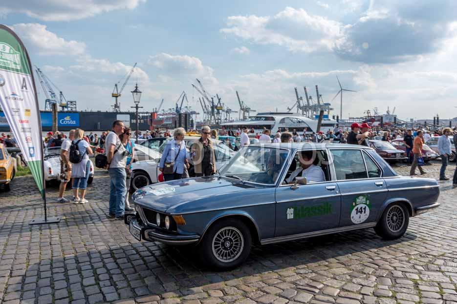 Automythos | 8. Hamburg Berlin Klassik 2015 | 141 | Knut Simon & Daniela Pemöller | BMW 3.0 Si
