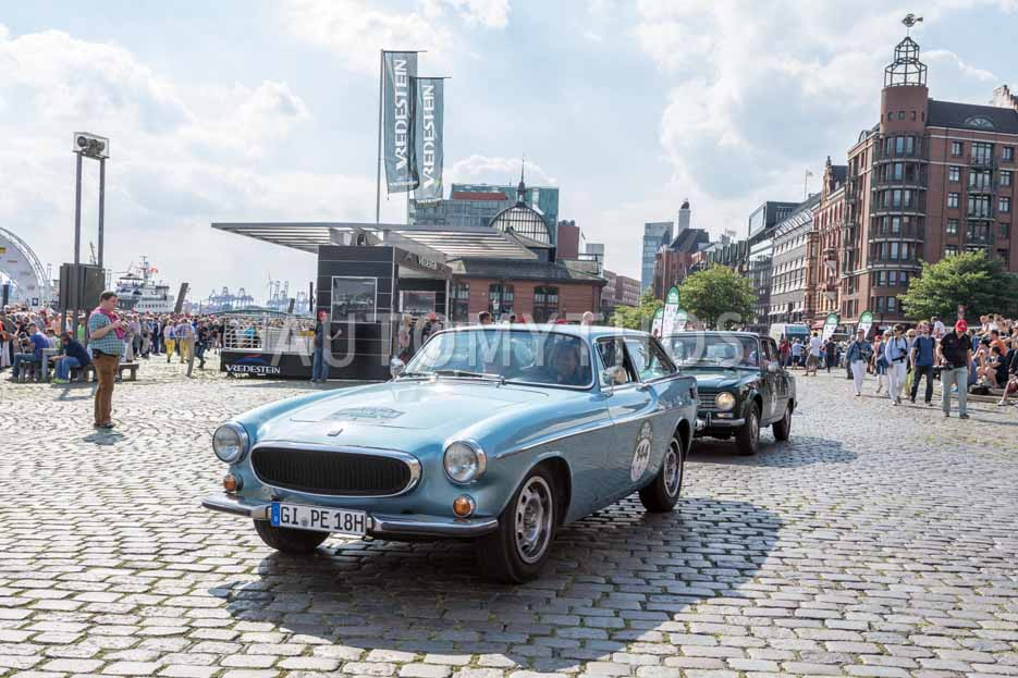 Automythos | 8. Hamburg Berlin Klassik 2015 | 144 | Sabine Schömig & Solveig Grewe | Volvo P1800ES