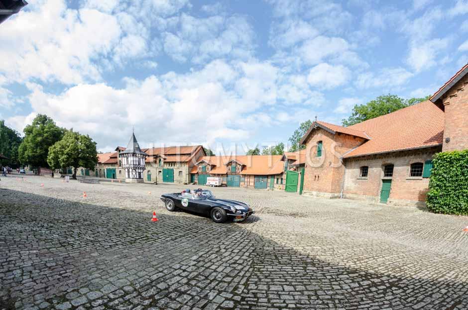 Automythos | 8. Hamburg Berlin Klassik 2015 | 146 | Kai Eckert & Kirsten Harnisch-Eckert | Jaguar E-Type Series 3