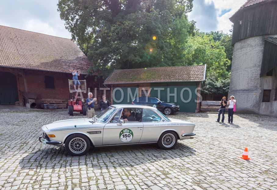 Automythos | 8. Hamburg Berlin Klassik 2015 | 150 | Johannes von Ehren & Kristina von Ehren | BMW CSA 2.5