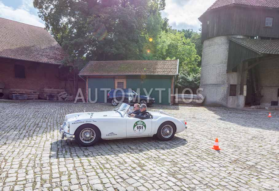 Automythos | 8. Hamburg Berlin Klassik 2015 | 151 | Manuel Baierlacher & Alexander Schramm | MG MGA 1600