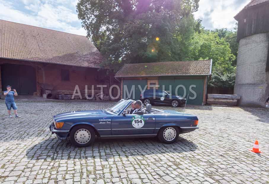Automythos | 8. Hamburg Berlin Klassik 2015 | 154 | Frank Hertel & Bozema Nitu | Mercedes-Benz R107 300 SL