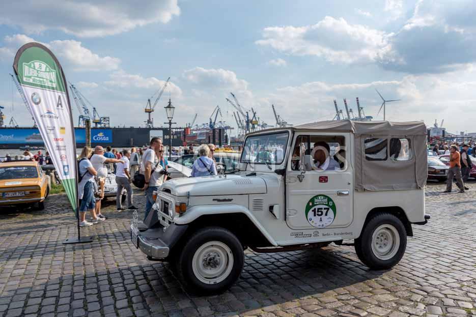 Automythos | 8. Hamburg Berlin Klassik 2015 | 157 | Detlef Slupinski & Dr. Dietrich Hartmann | Toyota Land Cruiser