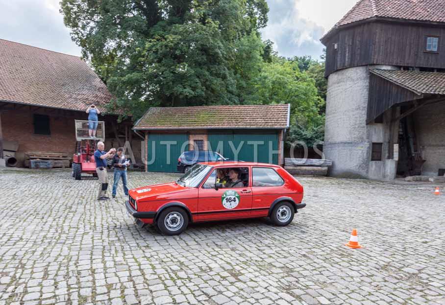 Automythos | 8. Hamburg Berlin Klassik 2015 | 164 | Roland Bruns & Volker Warzecha | Volkswagen Golf I GTI