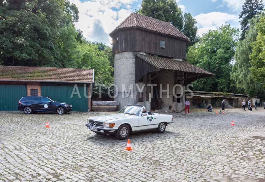Automythos | 8. Hamburg Berlin Klassik 2015 | 167 | Kai-Alexander Steffens & Dr. Katrin Lammel | Mercedes-Benz R107 280 SL