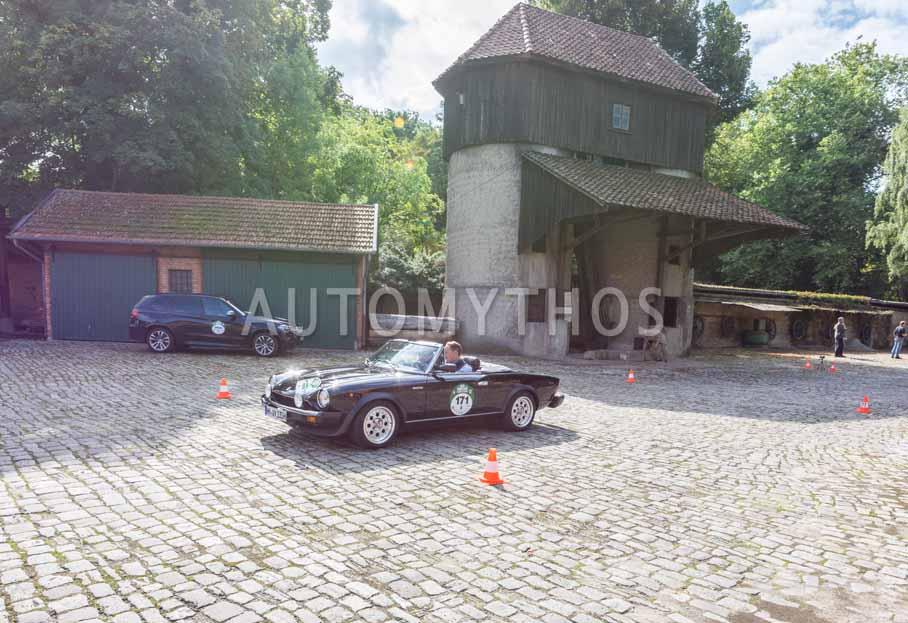 Automythos | 8. Hamburg Berlin Klassik 2015 | 171 | Jan-Philipp Meyer & Dr. Gerd Polzhofer | Pininfarina 124 DS Volumex