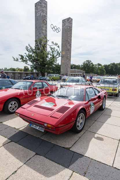 Automythos | 8. Hamburg Berlin Klassik 2015 | 172 | Carsten Geyer & Herret von Haeften | Ferrari 308 GTB