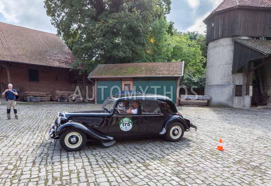 Automythos | 8. Hamburg Berlin Klassik 2015 | 175 | Gerhard Wöhlermann & Dr. Christian Süverkrüp | Citroën Traction Avant 11 B
