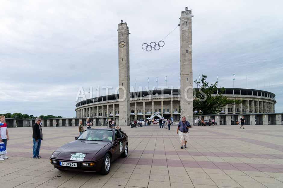 Automythos | 8. Hamburg Berlin Klassik 2015 | 176 | Dr. Gerhardus Kreyenborg & Norbert Brinkhaus | Porsche 924 S