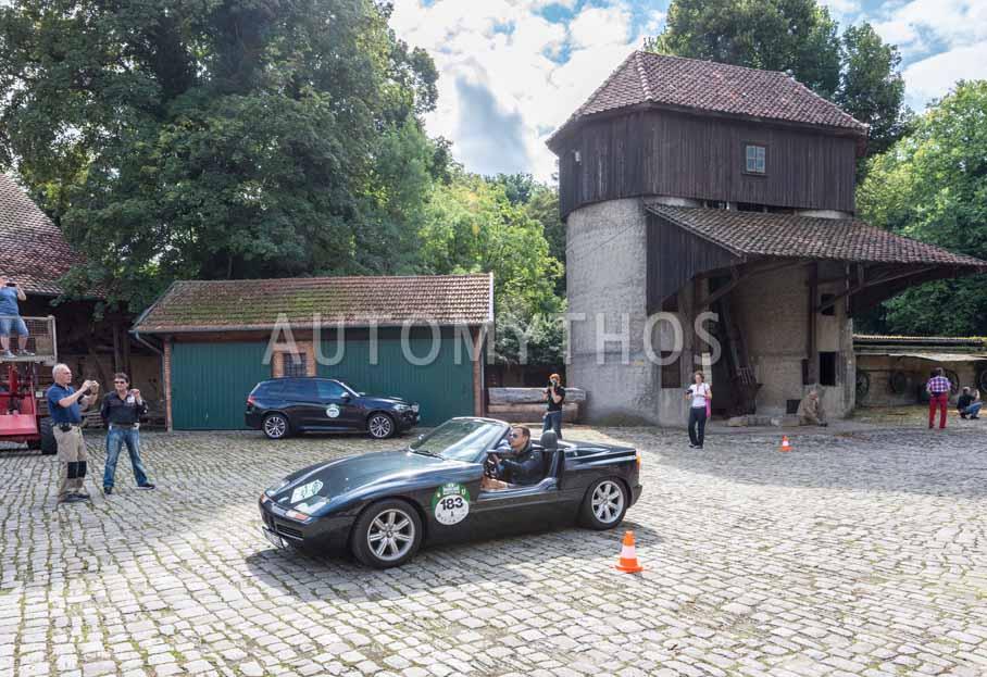 Automythos | 8. Hamburg Berlin Klassik 2015 | 183 | Stefan Schmitt & Sebastian Schornstheimer | BMW Z1
