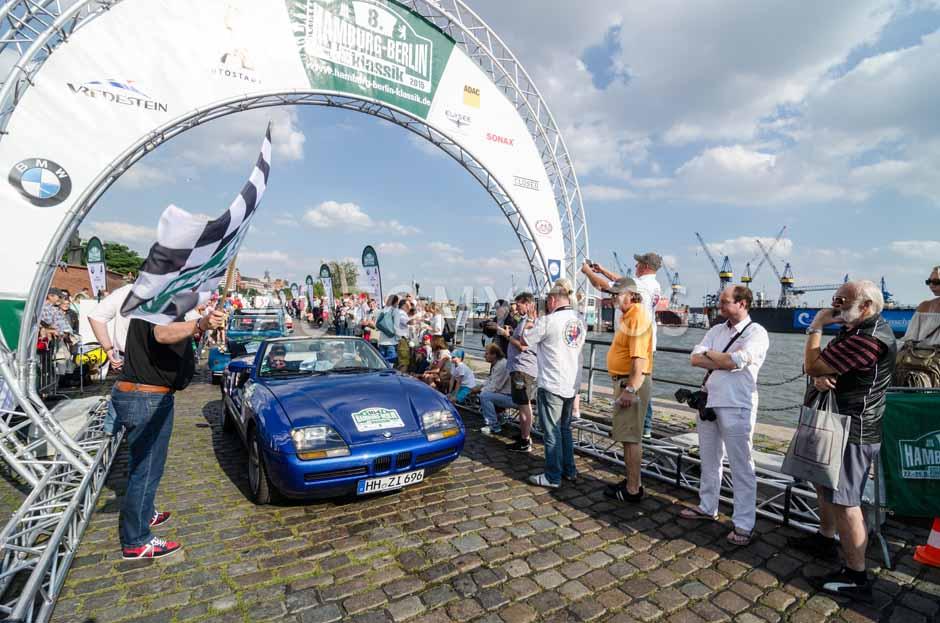 Automythos | 8. Hamburg Berlin Klassik 2015 | 184 | Dr. Stefan Buchholtz & Dr. Frank Weber | BMW Z1