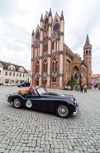 Automythos | 8. Hamburg Berlin Klassik 2015 | 42 | Wolfgang Bahlmann & Wolfgang Borutta | Jaguar XK140 DHC