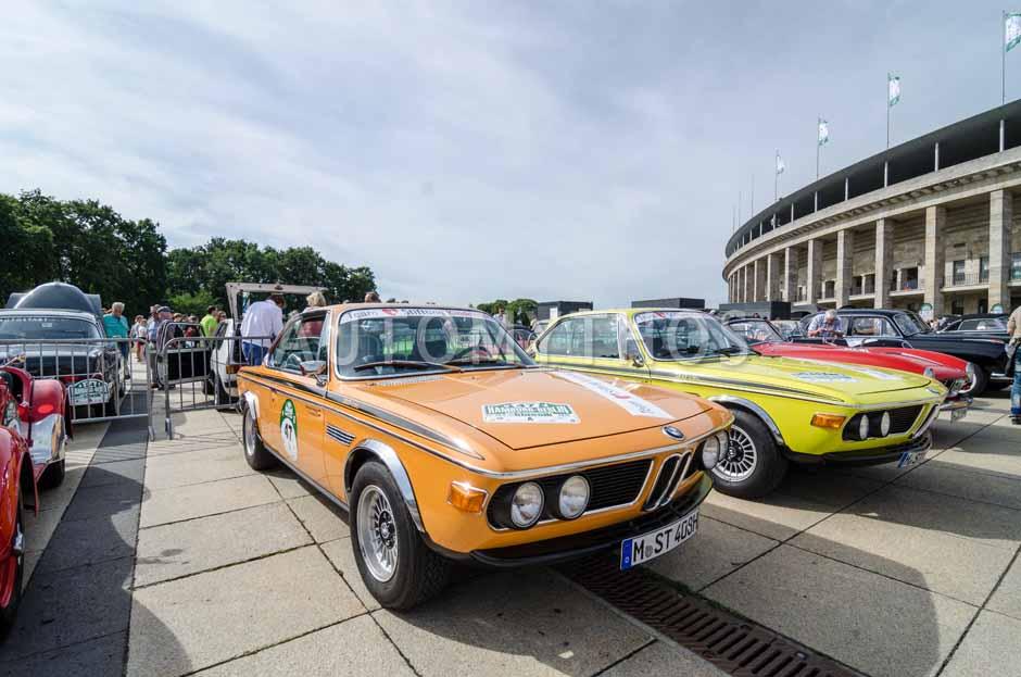Automythos | 8. Hamburg Berlin Klassik 2015 | 47 | Nikki Adler & Werner Kuenstle | BMW 3.0 CSL