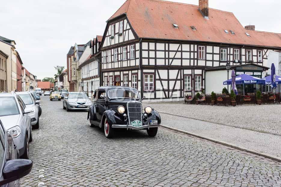 Automythos | 8. Hamburg Berlin Klassik 2015 | 5 | Friedemann Matthieu & Bernd Budi | Ford V8 Model 48