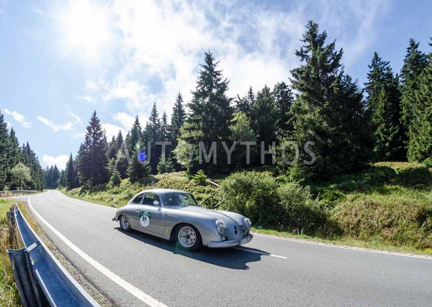 Automythos | 8. Hamburg Berlin Klassik 2015 | 51 | Harald Frings & Ulrike Frings | Porsche 356 A GT