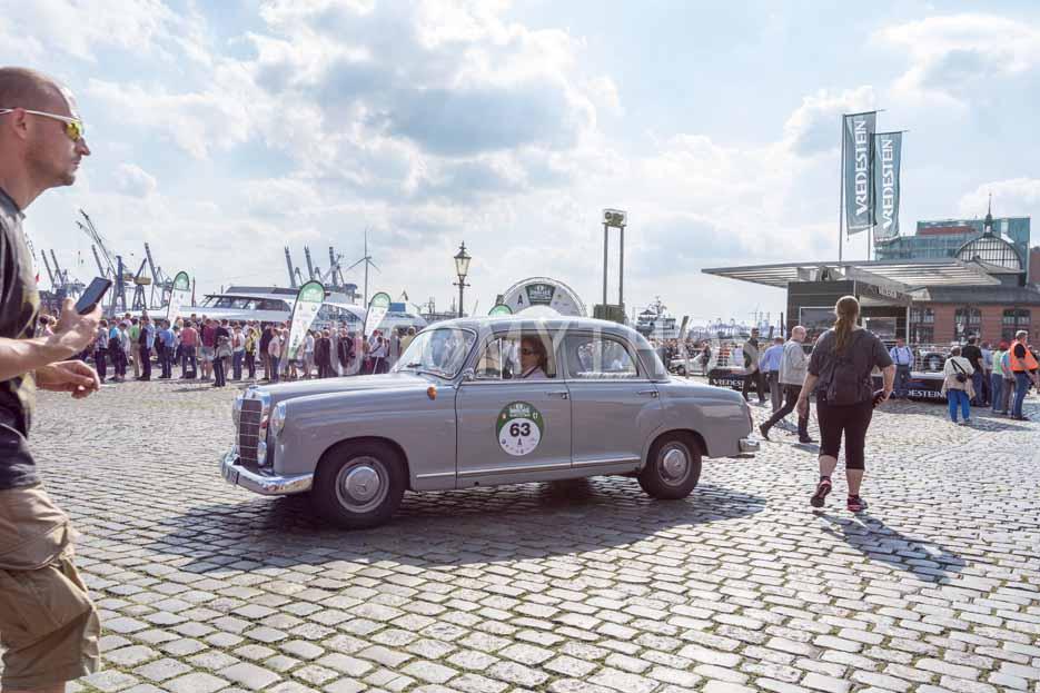 Automythos | 8. Hamburg Berlin Klassik 2015 | 63 | Nicole Berlik & Helge Harms | Mercedes-Benz 190b