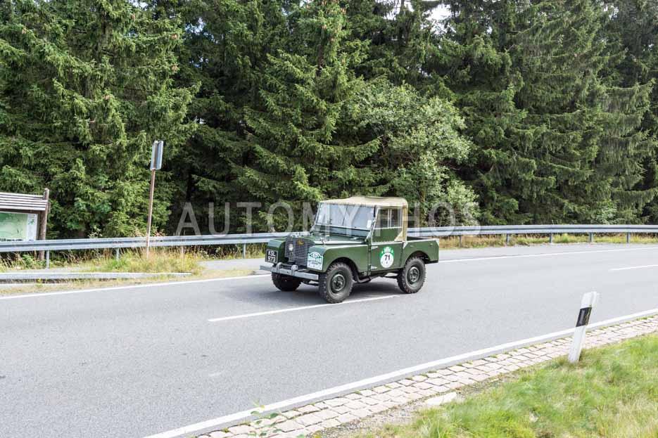 Automythos | 8. Hamburg Berlin Klassik 2015 | 71 | Dag Rogge & Helene Schmidt | Land Rover Serie 1