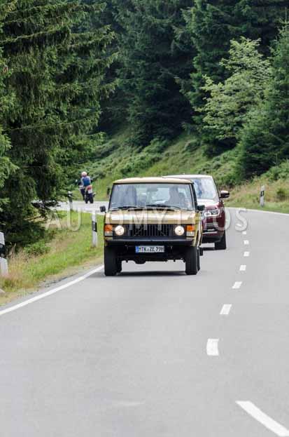 Automythos   8. Hamburg Berlin Klassik 2015   73   Holger Bergmann & Bernhard Weinbacher   Range Rover Classic