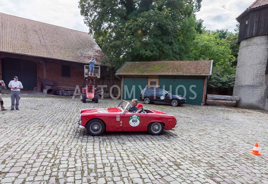 Automythos | 8. Hamburg Berlin Klassik 2015 | 80 | Christian Deneke & Stefanie Deneke | MG Midget MK I