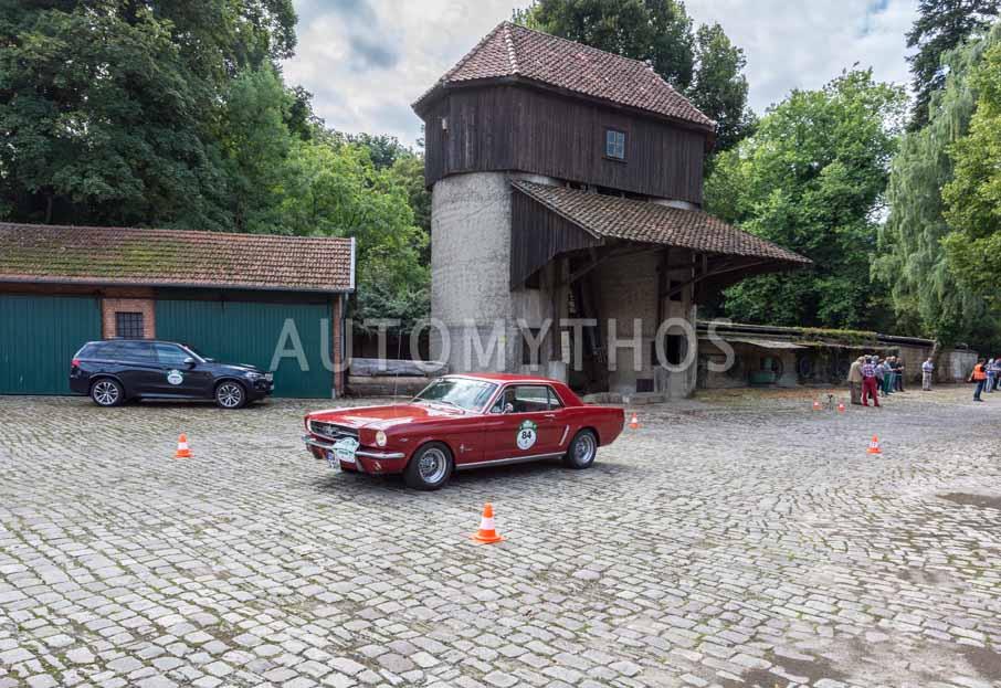 Automythos | 8. Hamburg Berlin Klassik 2015 | 84 | Walter Erke & Barbara Erke | Ford Mustang