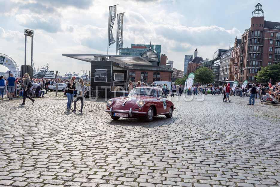Automythos | 8. Hamburg Berlin Klassik 2015 | 90 | Kirsten Beneke & Thomas Rütz | Porsche 356 C