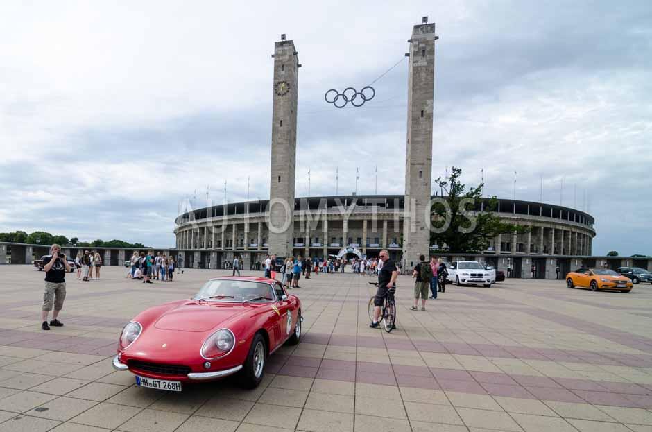 Automythos | 8. Hamburg Berlin Klassik 2015 | 96 | Jochen Fischer & Detlef Fischer | Ferrari 275 GTB