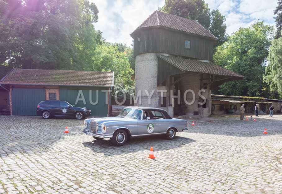 Automythos | 8. Hamburg Berlin Klassik 2015 | 98 | Jürgen Stern & Silvia Balasz | Mercedes-Benz W108 300 SE Cabriolet