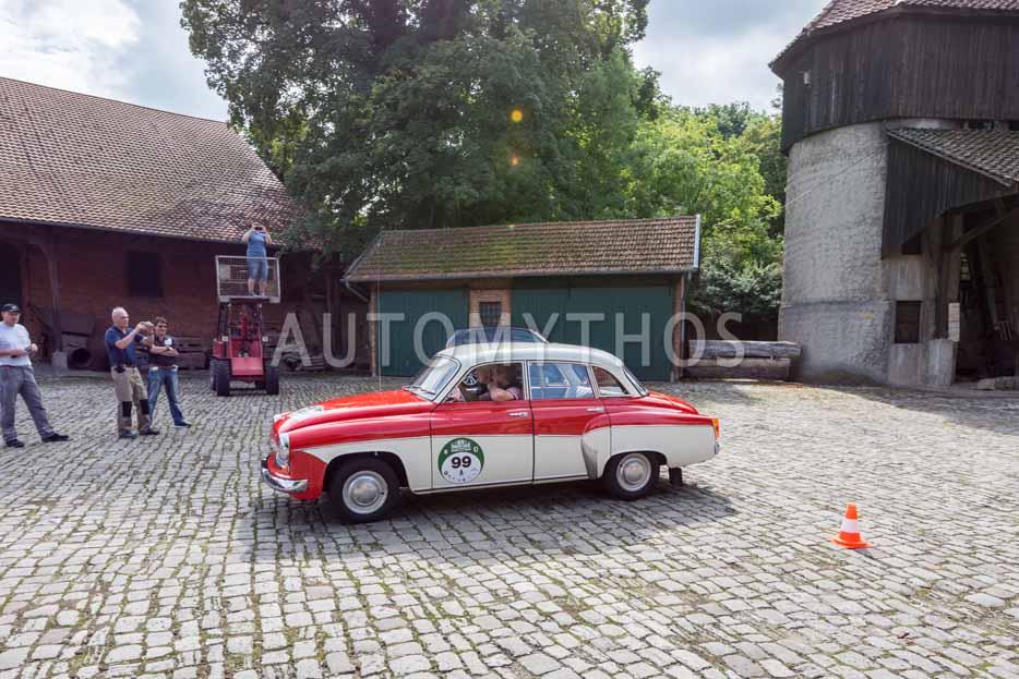 Automythos | 8. Hamburg Berlin Klassik 2015 | 99 | Andreas Dietz & Reinhardt Dietz | Wartburg 312 de luxe