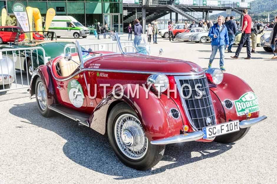 Automythos | 5. Bodensee Klassik 2016 | 6 | Udo Feser & Peter Feser | Wanderer W 25