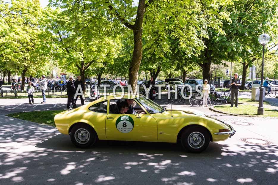 Automythos | 5. Bodensee Klassik 2016 | 8 | Peter Christian Küspert & Dagmar Silvery | Opel GT