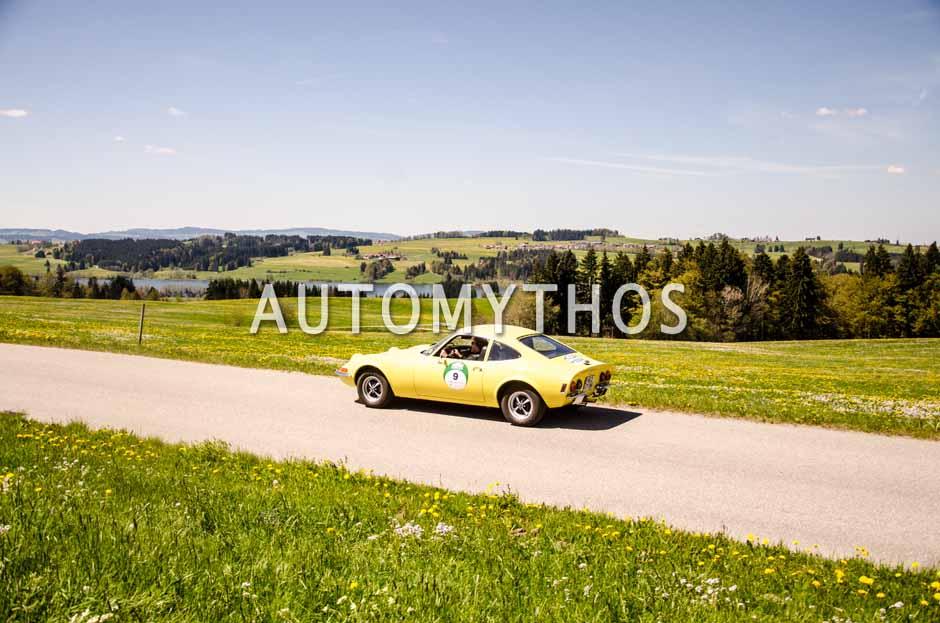 Automythos | 5. Bodensee Klassik 2016 | 9 | Joachim Winkelhock & Burkhard Knopke | Opel GT