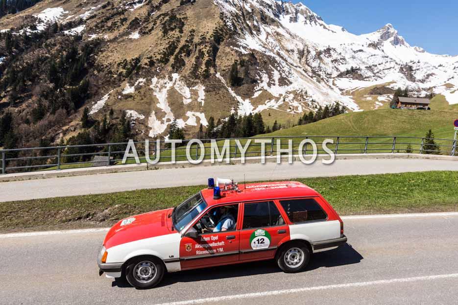 Automythos | 5. Bodensee Klassik 2016 | 12 | Thomas Geiger & Patrick Munsch | Opel Rekord E Caravan