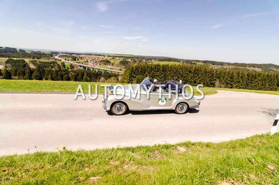 Automythos | 5. Bodensee Klassik 2016 | 15 | Maximilian Lehner & Lukas Dür | Mercedes-Benz 300 S