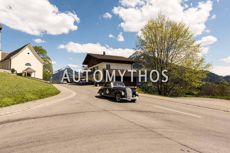 Automythos | 5. Bodensee Klassik 2016 | 17 | Christian Düllberg & Maximilian Wolters | Mercedes-Benz 220 Cabriolet A