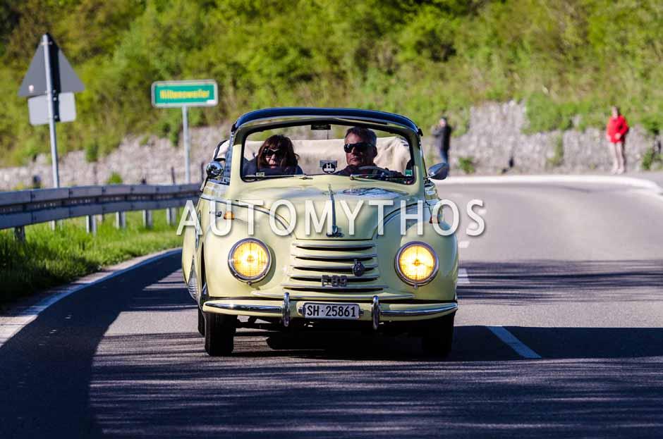 Automythos   5. Bodensee Klassik 2016   18   Martin Hanenberg & Jutta Faber   DKW F89 Cabriolet