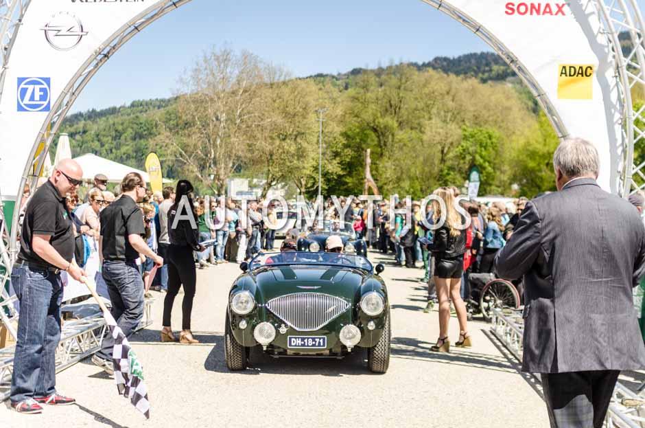 Automythos | 5. Bodensee Klassik 2016 | 19 | Reiner Löslein & Marcel Botterweck | Austin-Healey 100/4 Le Mans