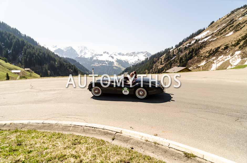 Automythos | 5. Bodensee Klassik 2016 | 20 | Dr. Eberhard Arnold & Susanne Herwig | Jaguar XK120 OTS