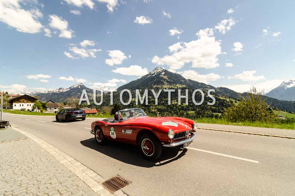 Automythos | 5. Bodensee Klassik 2016 | 24 | Tina Rumpelt & Rolf Lutz | BMW 507