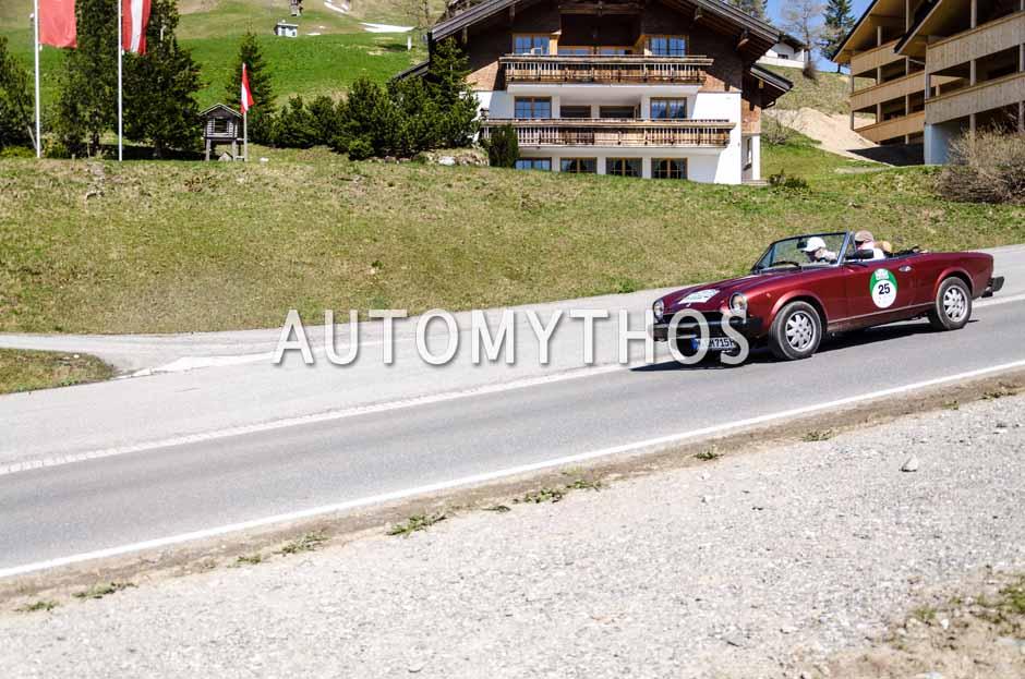 Automythos   5. Bodensee Klassik 2016   25   Dr. Holger Klein & Dr. Holger Hättich   Peugeot 504 & Audi V8 & Fiat 124