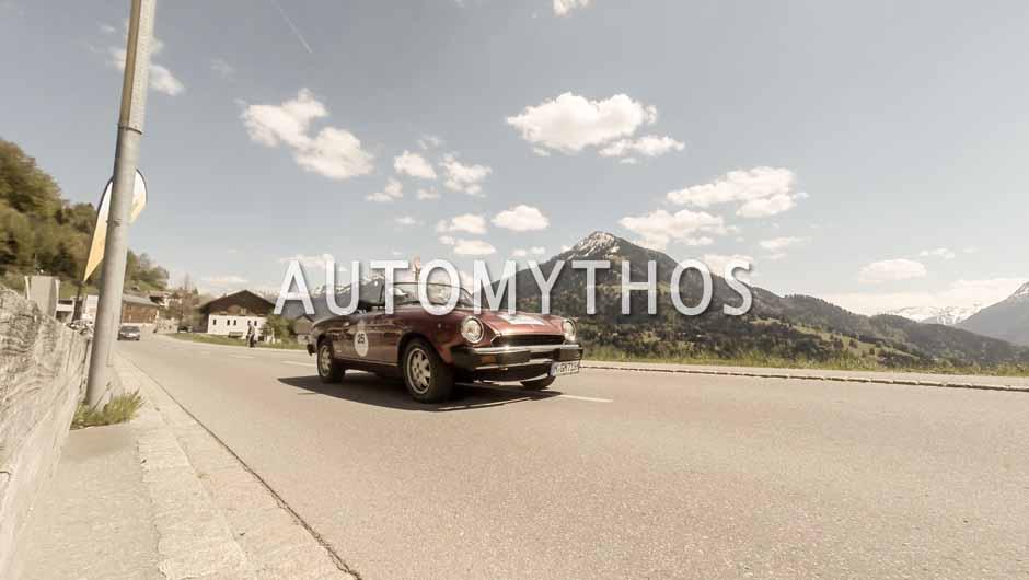 Automythos | 5. Bodensee Klassik 2016 | 25 | Dr. Holger Klein & Dr. Holger Hättich | Peugeot 504 & Audi V8 & Fiat 124