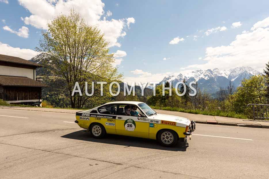 Automythos   5. Bodensee Klassik 2016   26   Robert Buchmeier & Immanuel Schneeberger   Opel Kadett C GT/E
