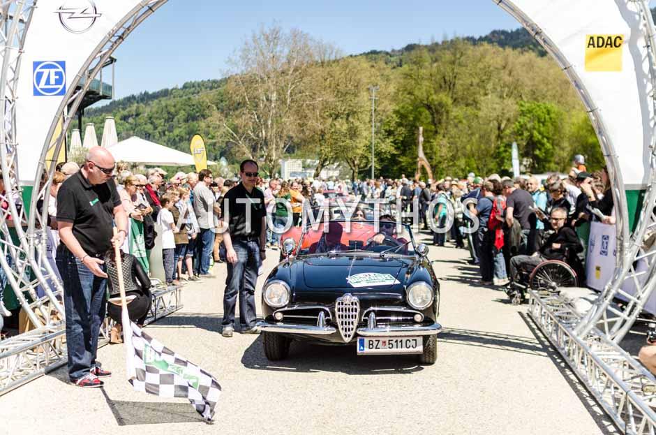 Automythos | 5. Bodensee Klassik 2016 | 31 | Milko Agueci & Yvonne Grabher-Agueci | Alfa Romeo Giulietta & Lancia Delta