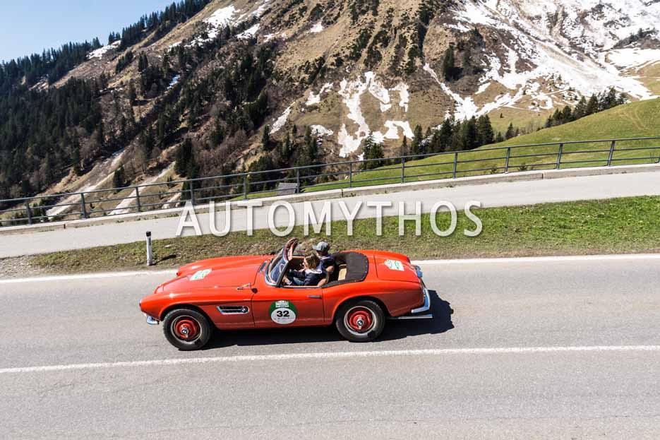 Automythos | 5. Bodensee Klassik 2016 | 32 | Evelyne Eberhart & Justine Eberhart | BMW 507