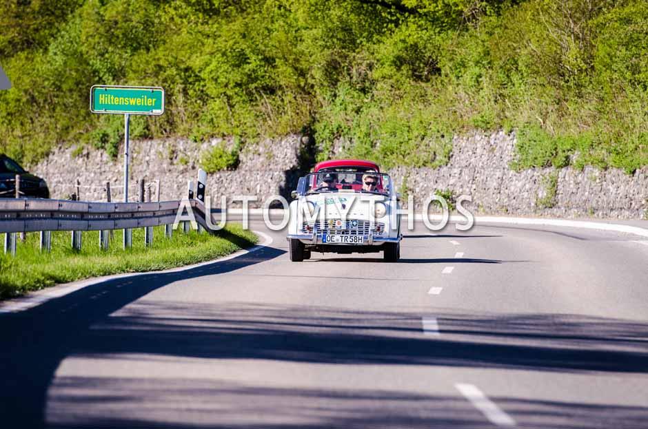 Automythos | 5. Bodensee Klassik 2016 | 34 | Andreas Rosenthal & Katharina Becker | Triumph TR3A