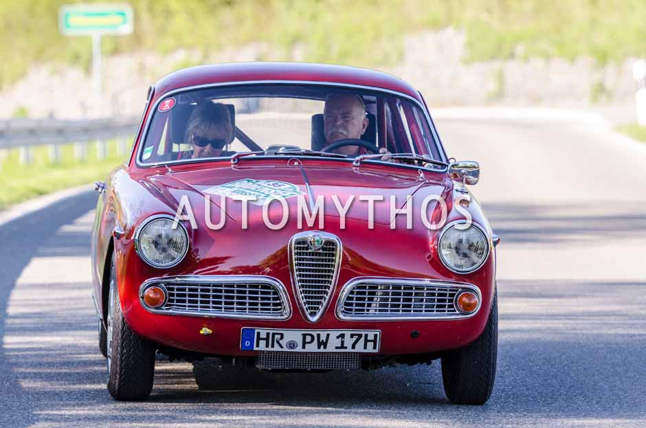 Automythos | 5. Bodensee Klassik 2016 | 35 | Peter Wieden & Johanna Baier-Wieden | Alfa Romeo Giulietta Sprint Veloce