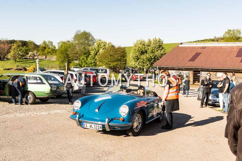 Automythos | 5. Bodensee Klassik 2016 | 40 | Lisa Lotte Leuze & Virginia Pinnisi | Porsche 356 B