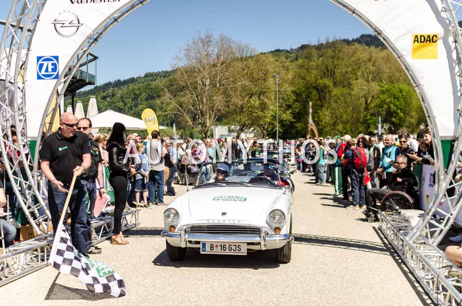 Automythos | 5. Bodensee Klassik 2016 | 42 | Dr. Martin Hansen & Bettina Anwander-Bösch | Sunbeam Alpine