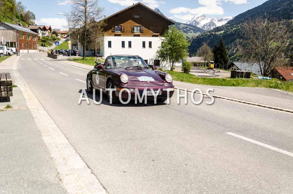 Automythos | 5. Bodensee Klassik 2016 | 45 | Siegfried Rauch & Karin Rauch | Porsche 911 Cabriolet