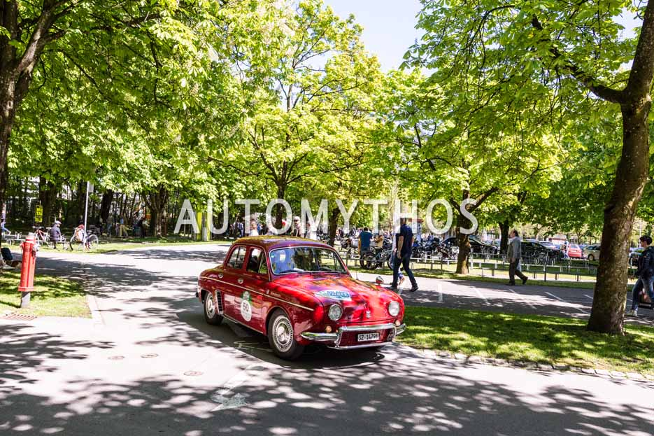 Automythos | 5. Bodensee Klassik 2016 | 50 | Hans-Ulrich Tschanz & Rita Tschanz | Renault Dauphine Gordini