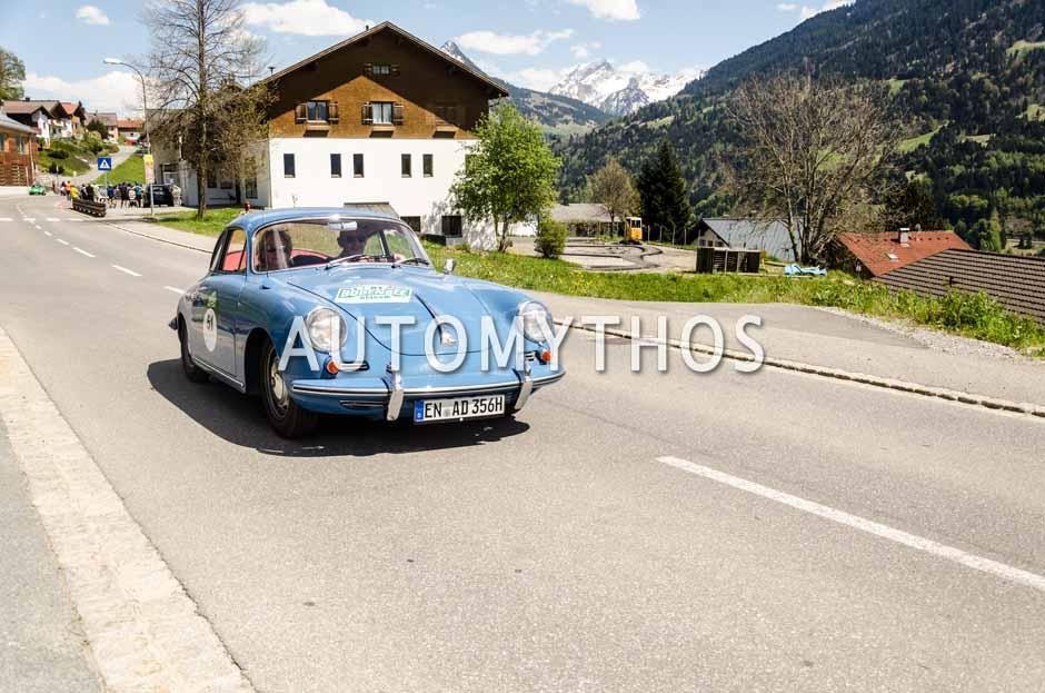 Automythos | 5. Bodensee Klassik 2016 | 51 | Heinz-Dieter Wächter & Anne Wächter | Porsche 356 C Coupé